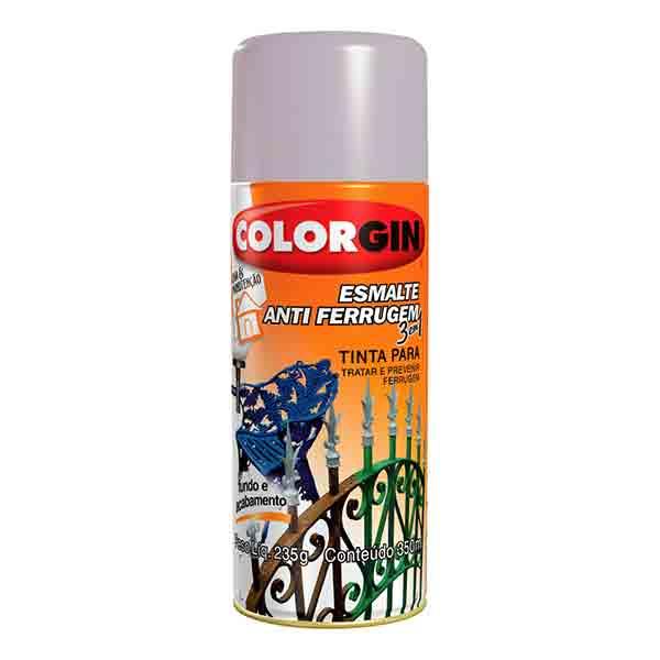Colorgin Esmalte Antiferrugem 3 Em 1