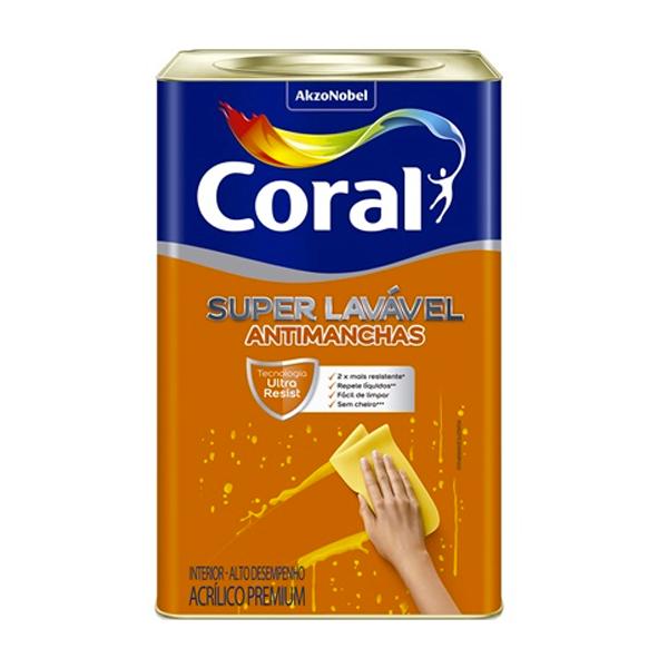 Coral Super Lavável